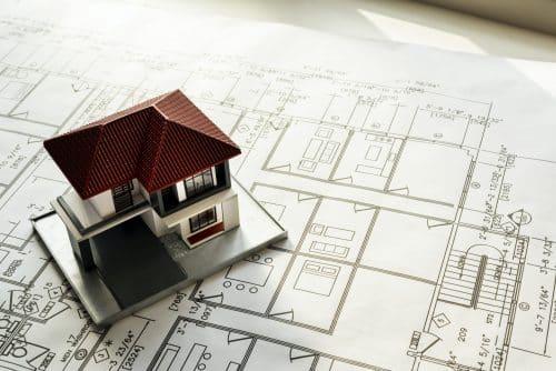 conception du plan d'une maison moderne