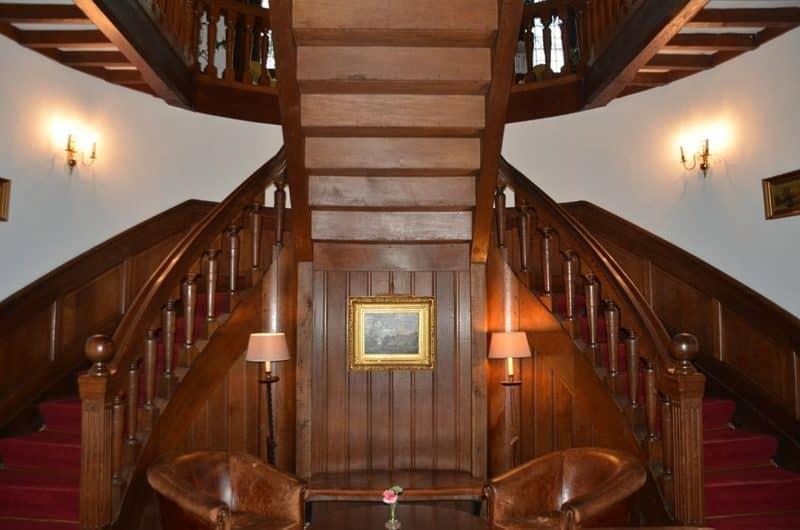 escalier bois decape