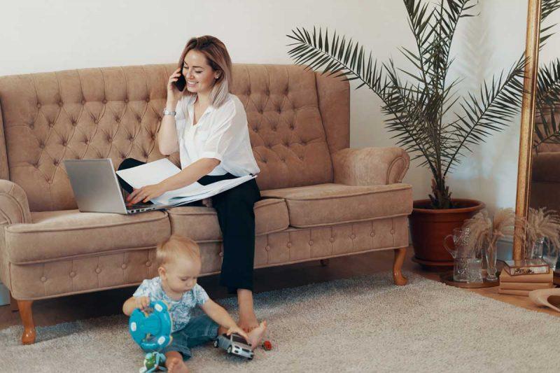 maman agent immobilier c'est possible